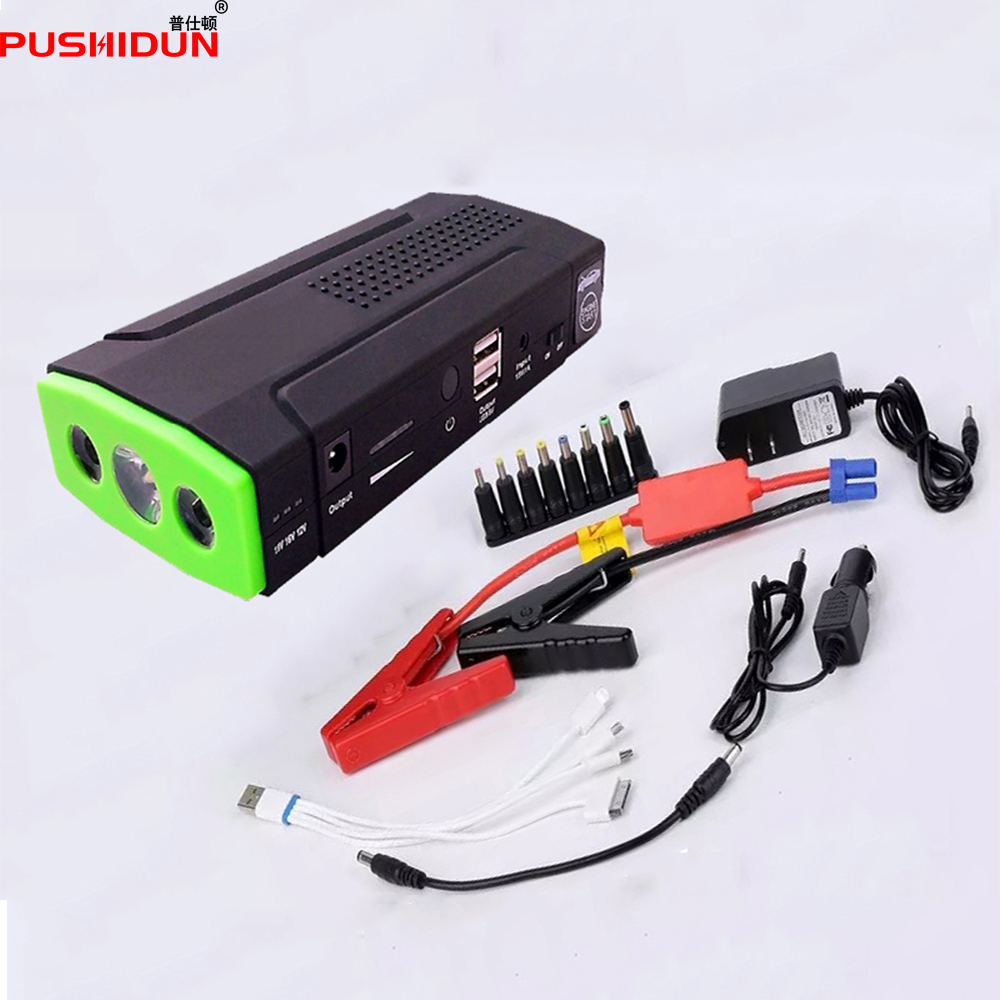 Promotion Multi Function Mini Portable Emergency Battery Charger Car Jump Starter 66800mAh Booster Power Bank Starting