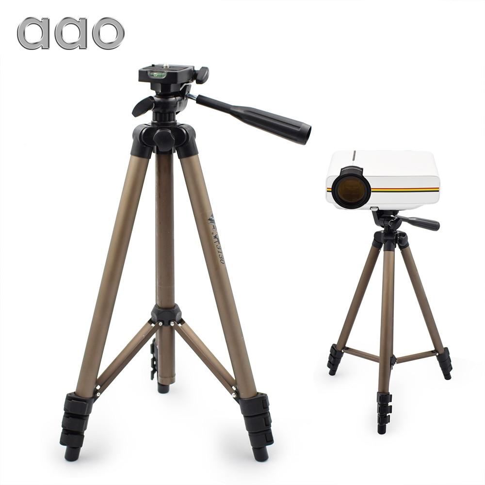 AAO Adjustable WT3130 Projector Digital Camera Tripod Mount Holder Stand Lightweight Aluminum GM60 Projector Bracket Tripod стоимость