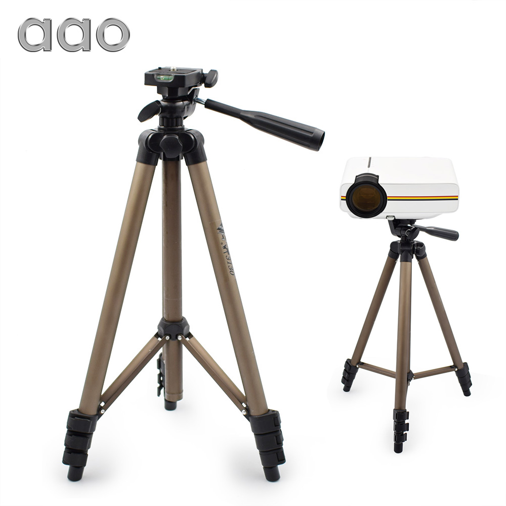 AAO Adjustable WT3130 Projector Digital Camera Tripod Mount Holder Stand Lightweight Aluminum GM60 Projector Bracket Tripod