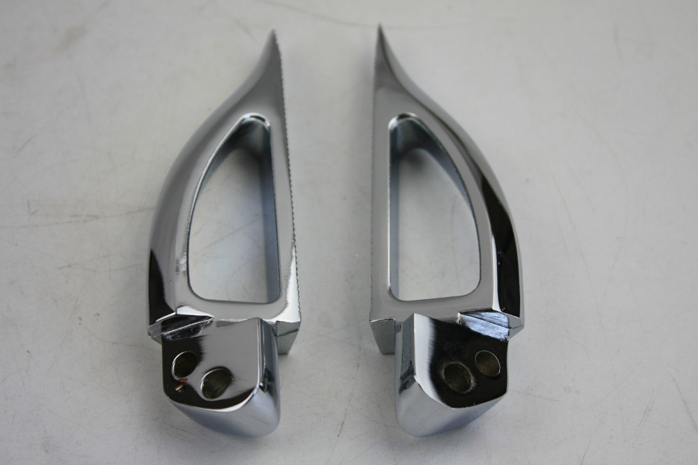 Aftermarket free shipping motorcycle parts Blade Style rear Foot Peg for 1999-2007 Suzuki GSX 1300R R Hayabusa GSX-R CHROME aftermarket free shipping motorcycle parts bike lowering links fit for 1987 2007 kl klr 650 silver