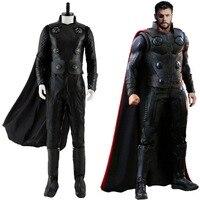 Мстители III Бесконечная война Тор Косплэй костюм наряд Для мужчин Хэллоуин Косплэй костюм для мужчины женщины взрослых