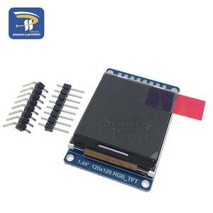 Image 3 - 3.3V 1.44 1.8 אינץ סידורי 128*128 128*160 65K SPI מלא צבע TFT IPS LCD תצוגת מודול לוח להחליף OLED ST7735