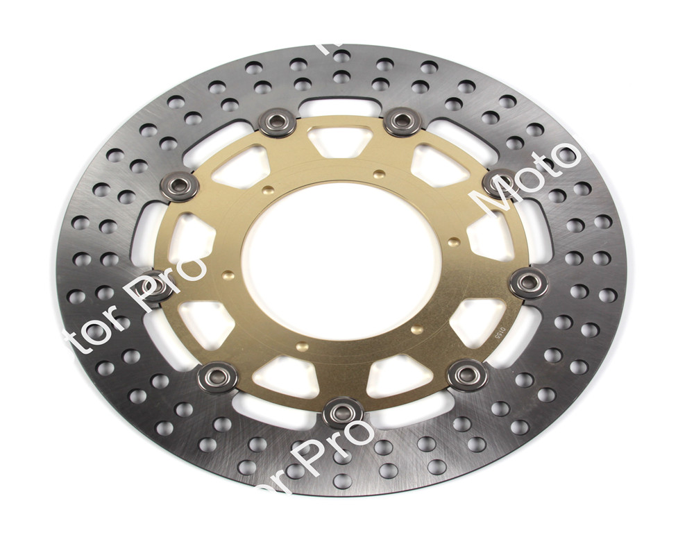 1 PCS CNC FOR BMW G 650 X CHALLENGE 2007 2008 2009 G 650 X COUNTRY F650 Floating Motorcycle Front Brake Disc brake disk Rotor keoghs motorcycle brake disc brake rotor floating 260mm 82mm diameter cnc for yamaha scooter bws cygnus front disc replace