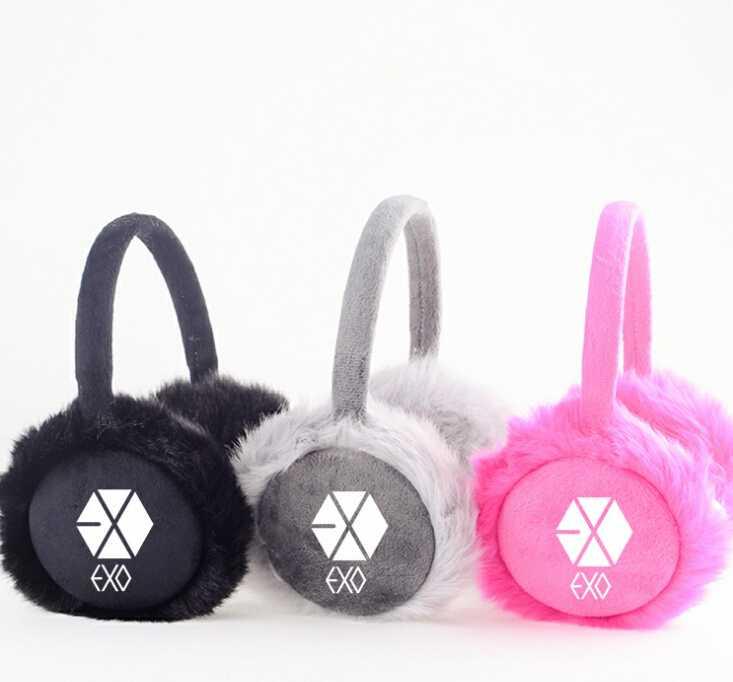 ᐃLas orejeras de invierno de moda para hombres mujeres Kpop Exo ...