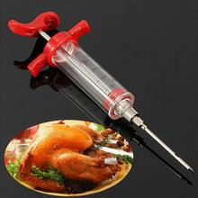 2017 30ml BBQ Meat Marinade Sauce Seasoning Syringe delicious barbecue and turkey make tools spices Infection Tool