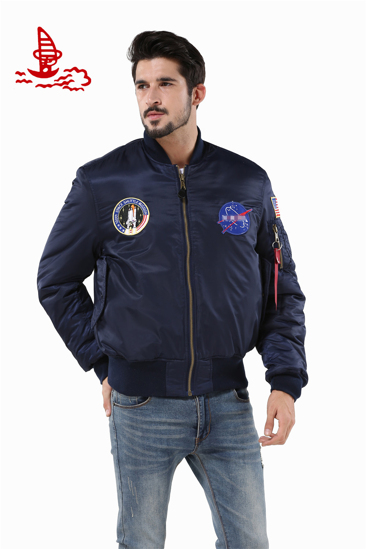 Nike jacket in chinese - Windbreaker Flying Varsity Waterproof American College Jacket Letterman Baseball Usa Flag Air Force Bomber Flight Jacket
