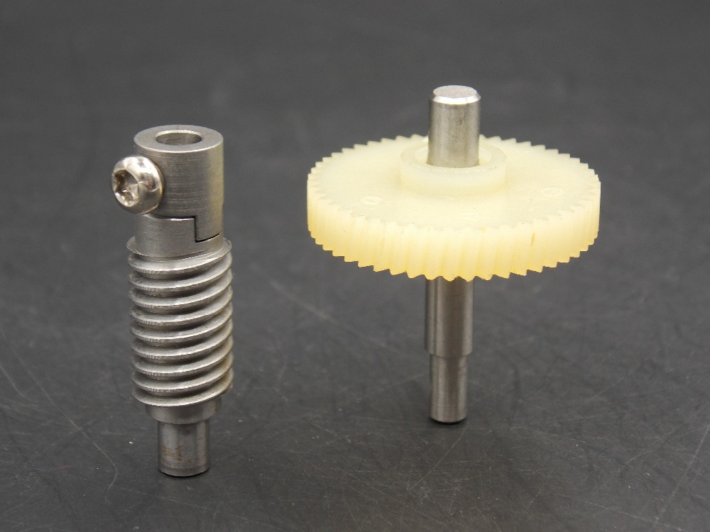 DIY production of metal and plastic gears