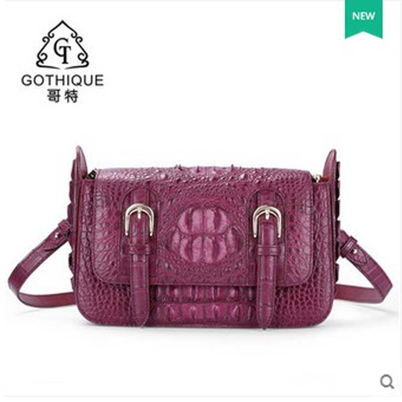 2018 gete  new hot free shipping women crocodile bag inclined single shoulder bag women bag  package messenger bag yuanyu 2018 new hot free shipping crocodile women handbag wrist bag big vintga high end single shoulder bags luxury women bag
