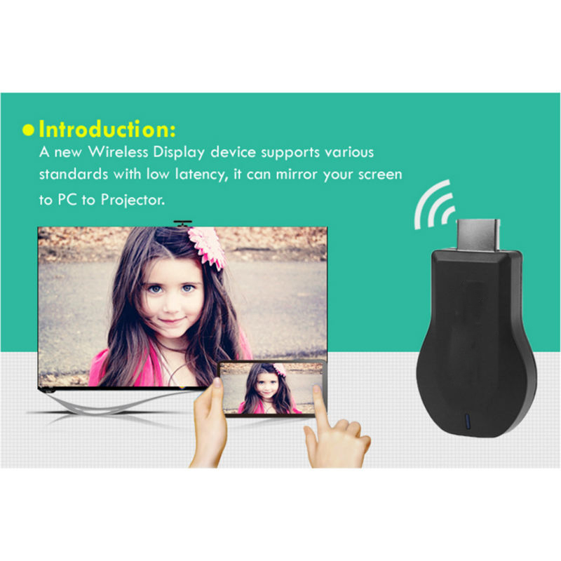 Miracast HDMI WIFI дисплейі DONGLE AIRPlay - Басты аудио және бейне - фото 2