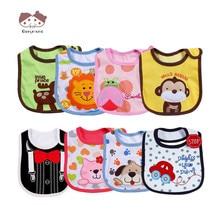 9 Types Newborn Baby Bibs Cloths Cotton Baby Girls Boys Cute Lovely Bibs Infant Saliva Towels Baby Bibs Waterproof Bebe Cloth