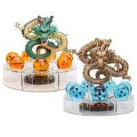 Dragon Ball Z Shenron PVC Action Figures Toys Dragon 7Pcs 3.5cm Dragonball Z Crystal Balls + Shelf Great Gift collection model