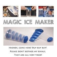 Mighty Freeze креативный инструмент для приготовления льда спиральная форма DIY силиконовая ледяная ведро портативная мороженое тубы для крема многофункциональная емкость для мороженого