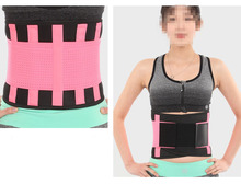 Cn herb Women s abdomen with Weight loss band Plastic belly belt Free shipping