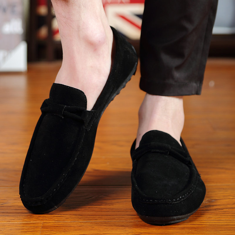 New spring summer 2019 Driving Comfortable Casual Shoes Suede Men Flats Moccasins Slip On Loafers Men Oxfords Shoes in Men 39 s Casual Shoes from Shoes