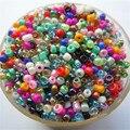 Popular Venda Quente Cores Misturadas Brilhante 1000 Pcs 2mm Vidro Checa Contas Espaçador Semente Jewelry Making DIY Escolha 46 cores