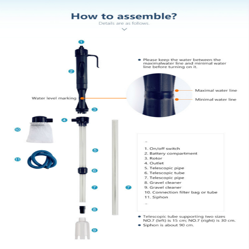 Electric glass aquarium syphon bottle auto fish tank vacuum gravel electric glass aquarium syphon bottle auto fish tank vacuum gravel water filter cleaner washer in cleaning tools from home garden on aliexpress publicscrutiny Choice Image