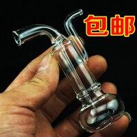 Shipping Crystal Transparent Glass Filter Cigarette Hookah Shisha Hookah Special Bucket Gift Box