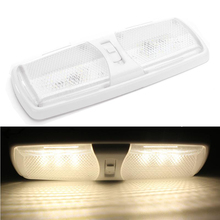 12V 18LED LED Dome Light Car Interior Ceiling Lamp for Camper Trailer Marine Yacht RV