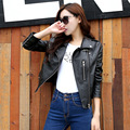 2016 зимние кожаные куртки женщины jaqueta де couro feminino пальто весте ан cuir femme мотоциклетная куртка jaqueta feminina