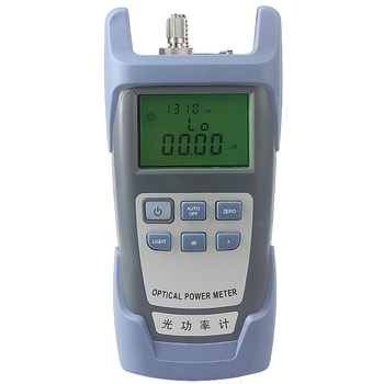 цена на FTTH Fiber Optic Optical Power Meter Cable Tester Networks FC/SC connectors -70~+10dBm