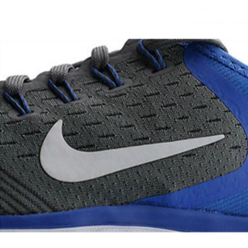 Chaussures de course pour hommes NIKE Original officiel chaussures de course Nike chaussures respirantes à lacets stabilité Sports de plein air marche 942836 - 6