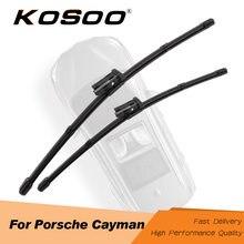 Kosoo для porsche Для cayman (987c 981c) Автомобильные резиновые