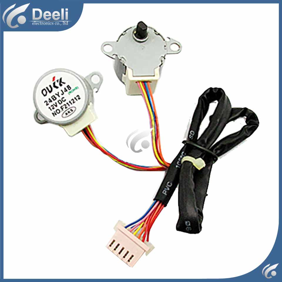 Air conditioning Dual synchronous motor wind motor MP2423 synchronous stepper motor 5pcs original for air conditioning dual synchronous motor wind motor 4byj48 dc 12v f231212 20 30cm length