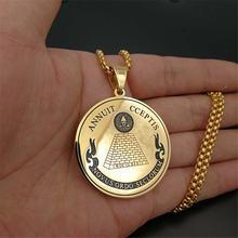 Ожерелье с подвеской «всевидящий глаз» для мужчин и женщин колье