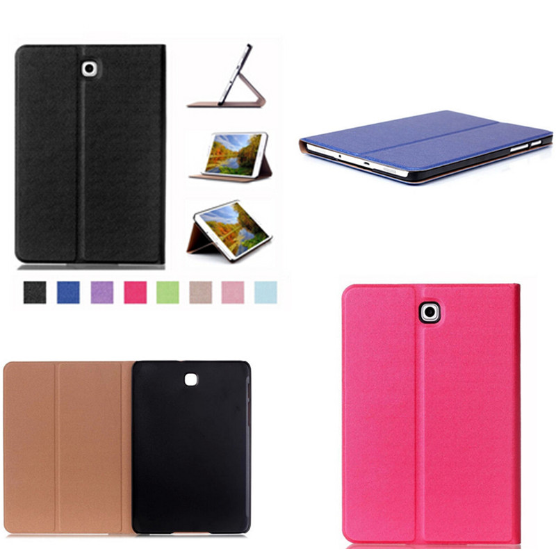 CY Tab S2 8.0 Smart Cover Case Touch Series Triple Flip PU Leather Case for Samsung galaxy tab S2 8.0 SM-T710 T715 T713 T719
