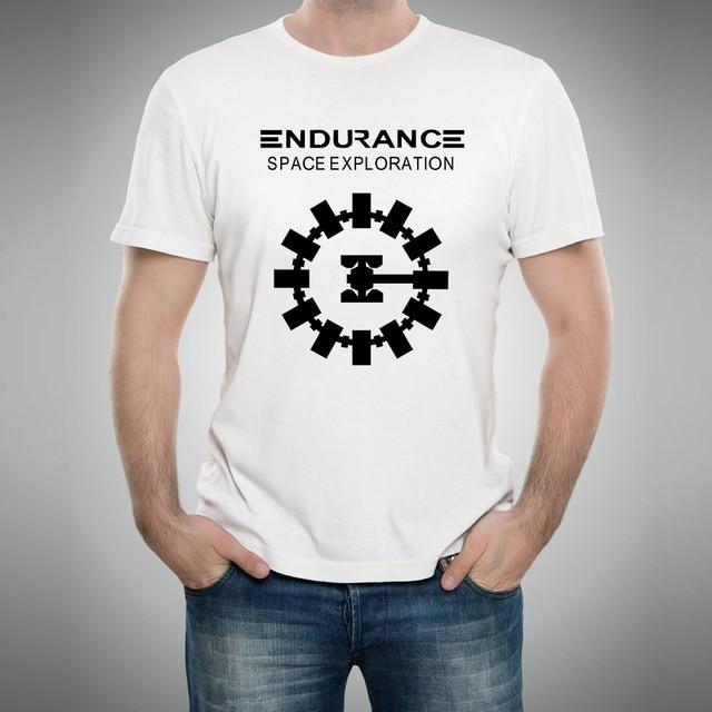 b9fd4afa1 Science Adventure Movie Interstellar Endurance Space Craft Christopher  Nolan T Shirts Vintage Top Quality Tshirts Men T-shirts