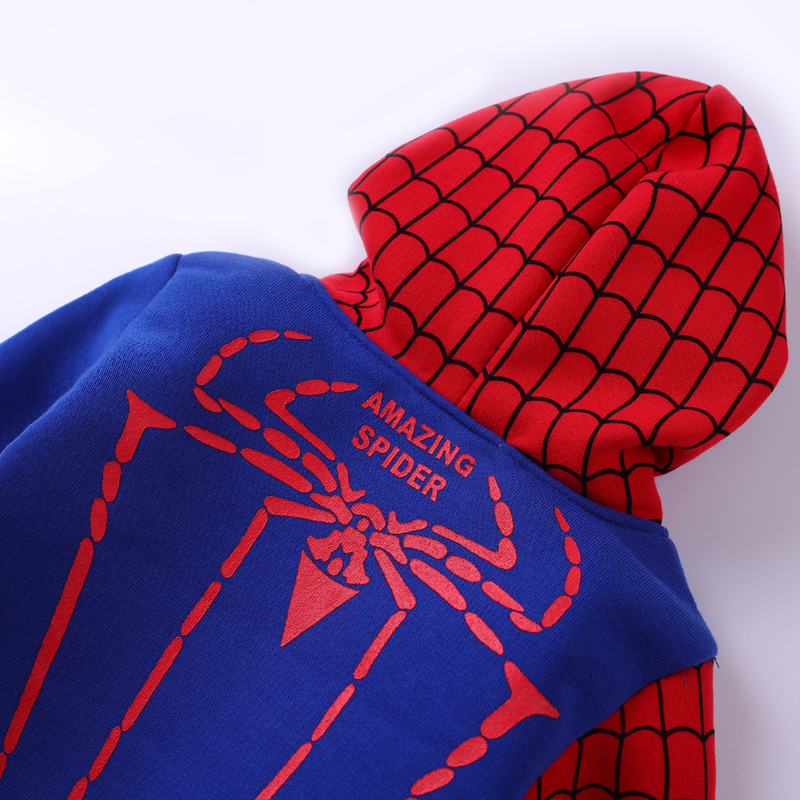 Children Clothing Autumn Winter Toddler Boys Clothes Sets Spiderman Costume Kids Clothes For Boys Clothing Suit 3 4 5 6 7 Year 22