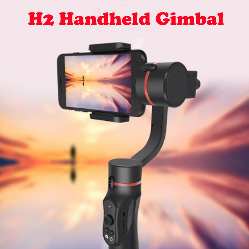 H2 Handheld Gimbal 3 Axis Smartphone Stabilizer Smartphone Remote Smart Steady For iPhone 6S/6 plus/7/SE Gopro 3/4/5/6 camera feikuer stabilizer 2 axis brushless handheld gimbal for smart phone and iphone 6 plus
