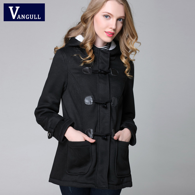 Vangull New Fashion Warm Winter Coat Women Thick Plus Size Hooded - Women's Clothing - Photo 5