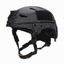 AirsoftSports Sport Helme NEUE TB-FMA BUMP EXFIL Lite Militärische Taktische Helm Schwarz Paintball Kampf Schutz Kostenloser Versand
