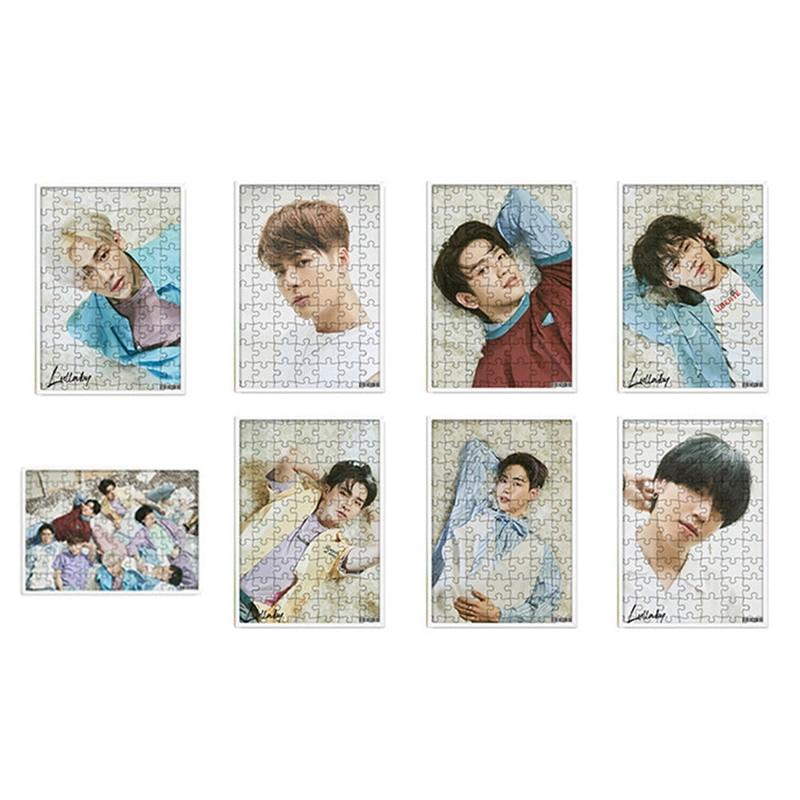 120 Pcs/set Kpop Got7 Album Present You Member Photo A4 Jigsaw Puzzles Toys For Children Paper Education Puzzles Toys Puzzles & Games