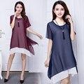 2016 verão nova moda seção Fina roupa de Maternidade versão Coreana do novo mulheres grávidas vestir Frete grátis