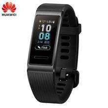 Originale Huawei Fascia 3/Pro Smartband Struttura In Metallo Amoled Completa Display A Colori Touchscreen di Nuotata Corsa Sensore della Frequenza Cardiaca di Sonno