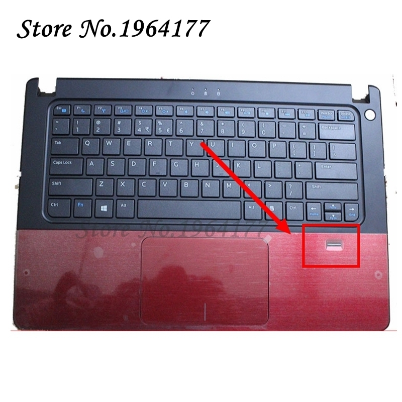 New Palmrest topcase for DELL VOSTRO V5460 5460 5470 P N 56M9 US Keyboard Upper cover