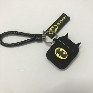 Image 3 - Hot Batman The Dark Knight Earphone Cases For Apple Airpods Wireless Bluetooth Headset Silicone Cover For Air pods 2 Accessories