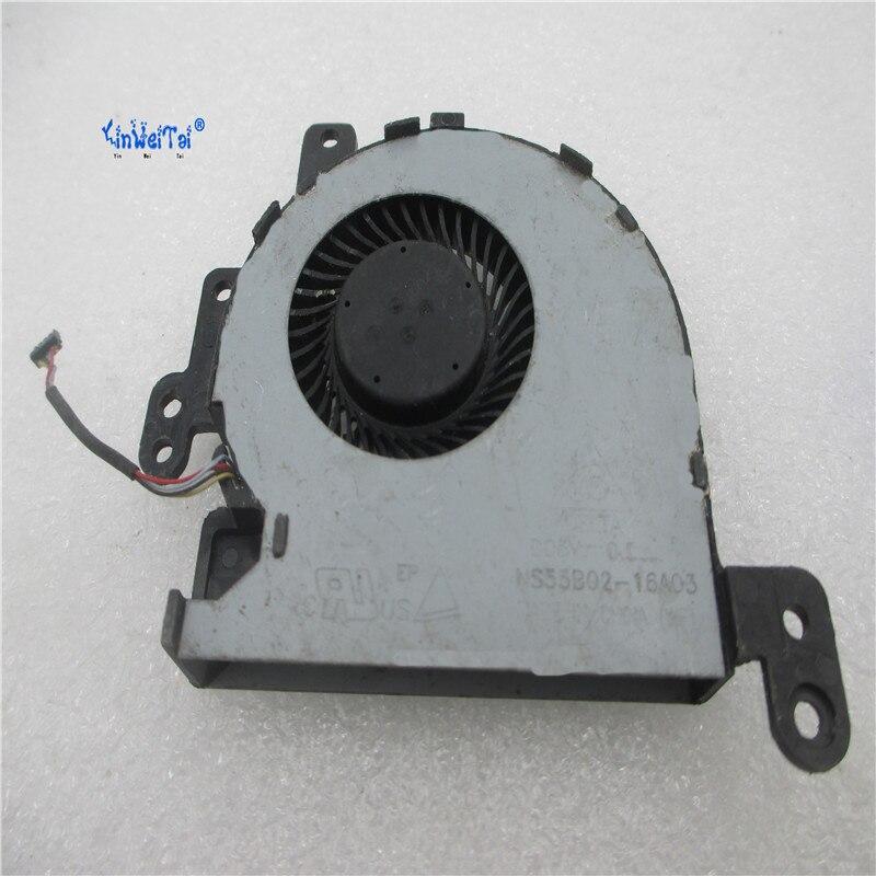 New CPU Cooler Fan For ASUS VivoBook Max X441SC SA x441S X441 13NB0CD0T01011 NS55B02-16A03 for asus u46e heatsink cooling fan cooler