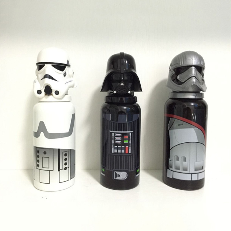 Star Wars Free Leak Proof Sports Water Bottle High Quality Tour Hiking Portable Cartoon Style Bottles Soldier Kids Child My Gift