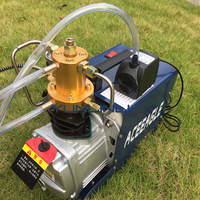 220V High Pressure Air Pump Electric Water Cooled 1.8KW Air Pump Copper Wire Motor