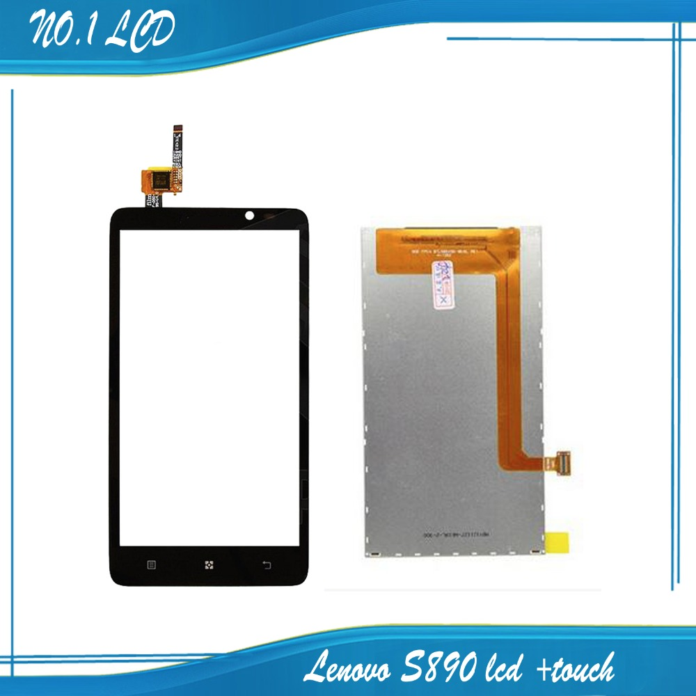 NEW touch panel for Lenovo S890 touchscreen with lcd digitizer replacement free shipping