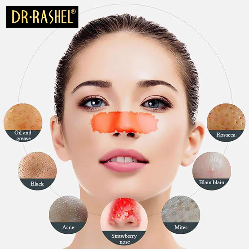 RASHEL Women Black Mask Nose Blackhead Remover Peel Off Whitening Facial  Mask Acne Treatment Collagen With Bamboo Charcoal-in Treatments   Masks  from Beauty ... 3e61f48c71