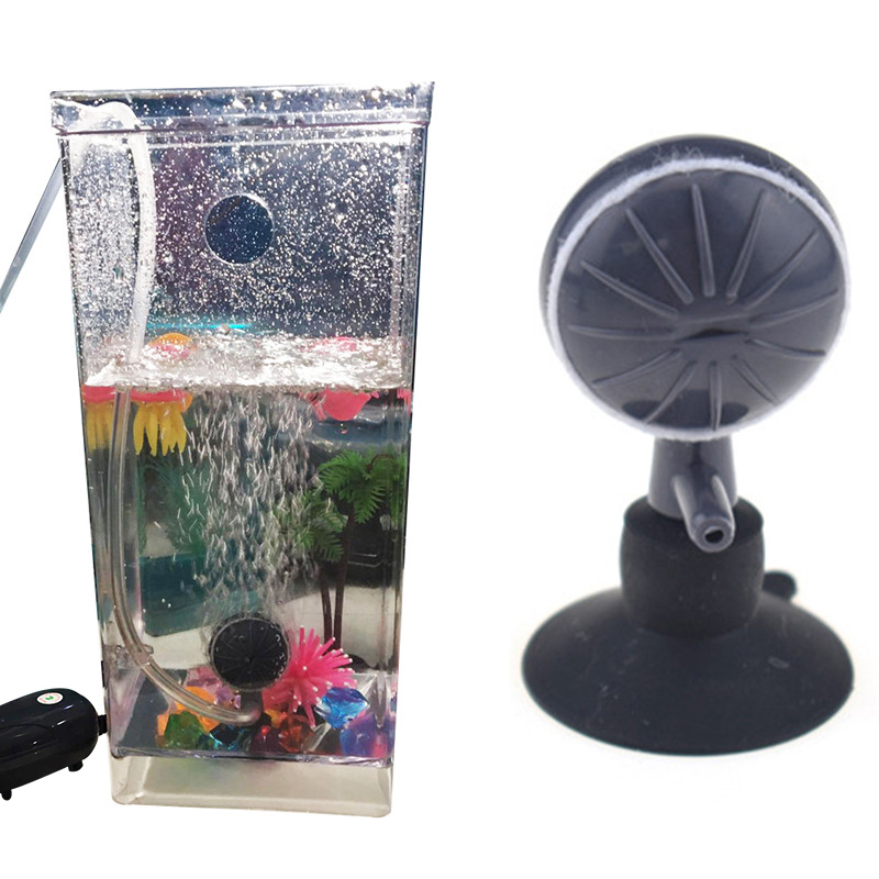 Aquarium Fish Tank Bubble Stone Adjuster Oxygen Pump Pet Clever