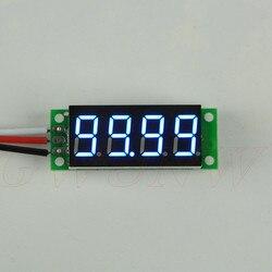 GWUNW BY436V DC 0-99.99V (100 V) 0.36 cal 4 bit Micro woltomierz/napięciomierz miernik bez powłoki