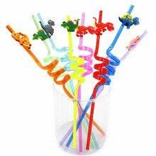 Вечерние столовые приборы с рисунком динозавра для дня рождения, украшения для детей и взрослых, бумажные тарелки, чашки, скатерть, воздушные шары, соломенные вечерние принадлежности