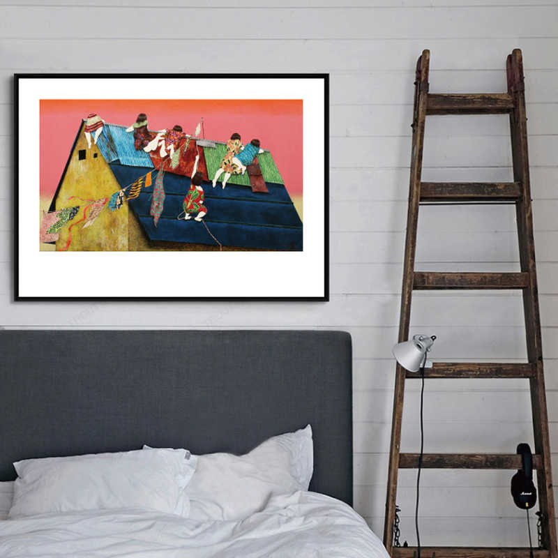 Japanese Ukiyoe for HD canvas Painting Poster Wall Art Prints Japanese Style Art Print For Living room decor Picture Pop Art