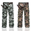 New Mens Casual Military Army Cargo Camo Combat Trousers Work Pants Trousers Camouflage Tactical Military Clothing