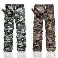 Nuevos Mens Casual militar del ejército Camo Cargo pantalones de trabajo pantalones pantalones de camuflaje ropa militar táctica